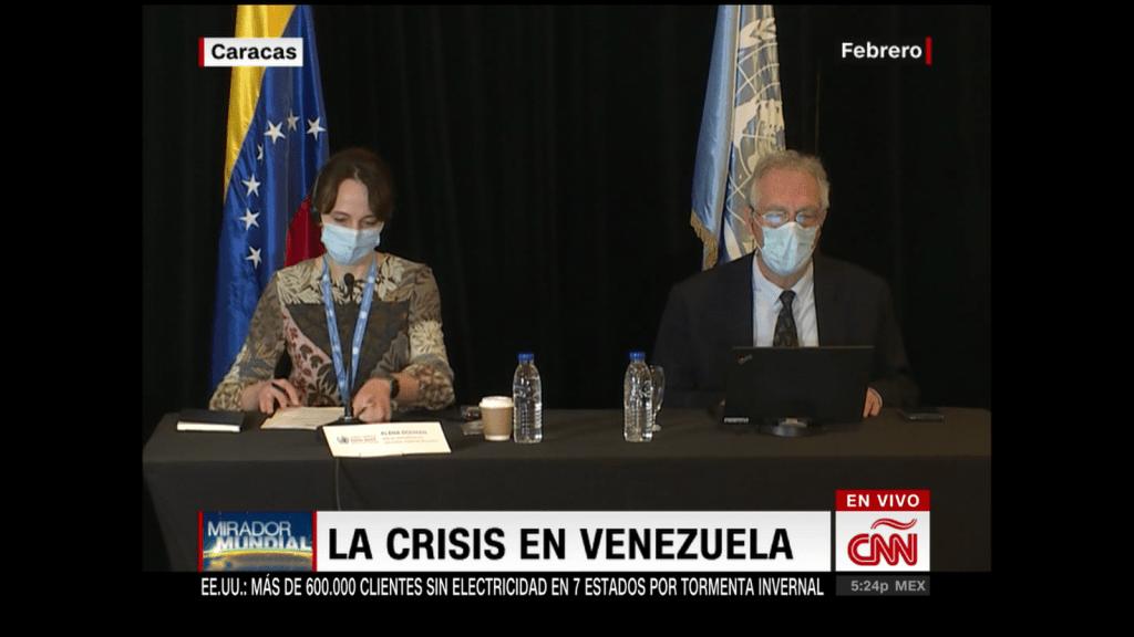 Oposición venezolana cuestiona informe de la ONU