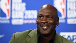 Michael Jordan donación