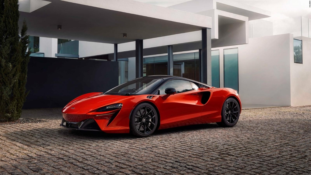 Check out McLaren's new hybrid supercar