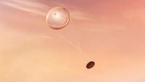 El mensaje oculto en el paracaídas del Perseverance