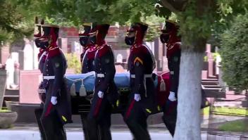 Así fue el entierro de Carlos Menem
