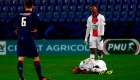 Cuando Neymar se lesiona, el PSG pierde en la Champions