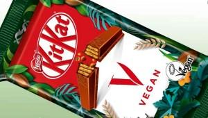 Nestlé lanza barra de KitKat vegana