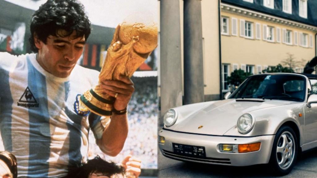 Ponen a la venta un supuesto auto de Maradona