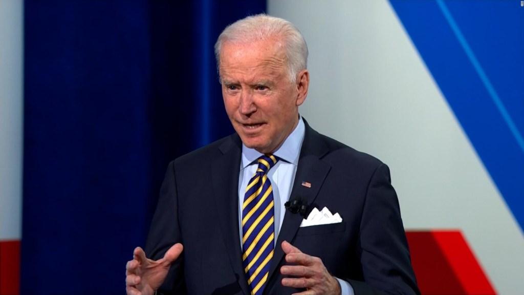 Biden: La amenaza más grande a EE.UU. es el terror interno