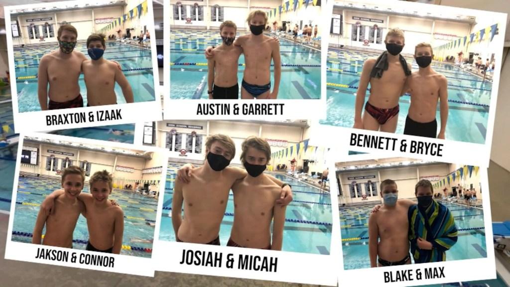 12 hermanos nadadores: conoce a este peculiar equipo