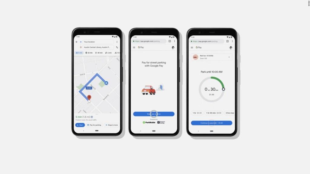 Podrás pagar y encontrar estacionamiento en Google Maps