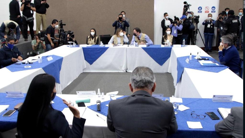 No aprueban recuento de votos en Ecuador