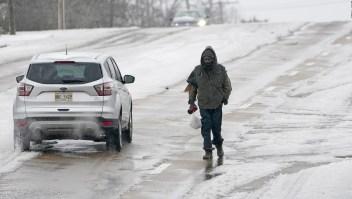La feroz tormenta invernal que afecta a EE.UU.