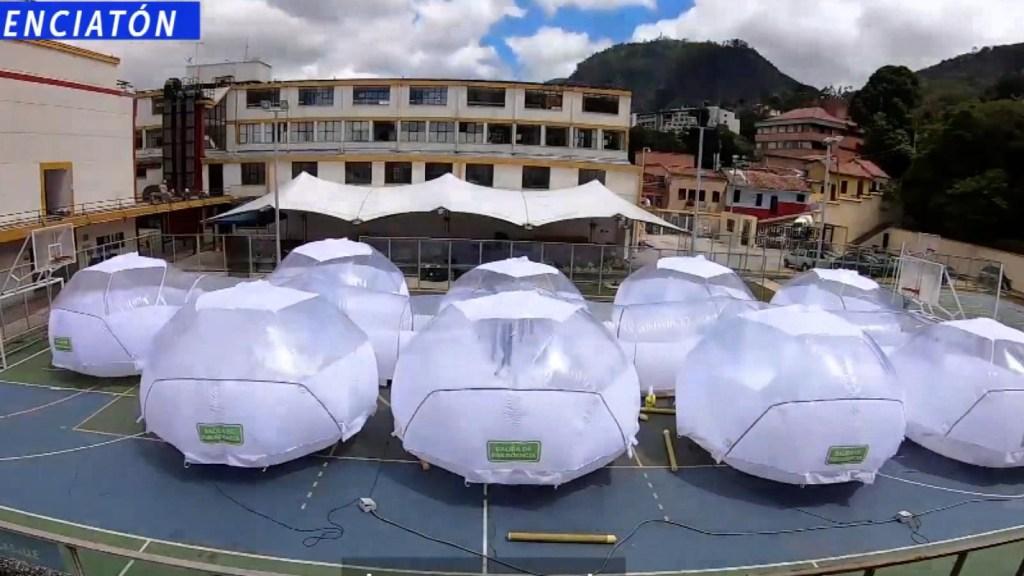 Docentes crean unidades de aislamiento en Colombia