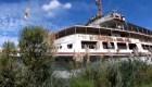 Impactante crucero abandonado en Argentina