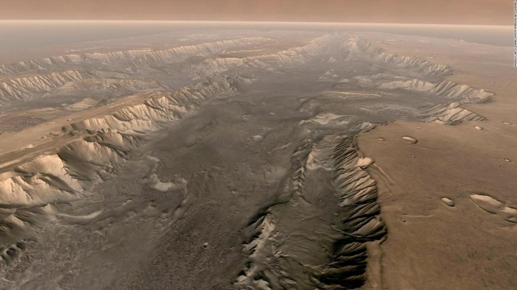 """Las imágenes del futuro """"barrio"""" en Marte"""