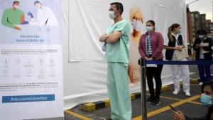 Así comenzó la vacunación en Bogotá