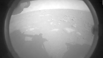 NASA publica primeras imágenes de Perseverance en Marte