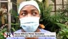 La esperanza de una enfermera de cancerología en Bogotá