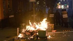 55 heridos en las protestas por el arresto de Pabo Hásel