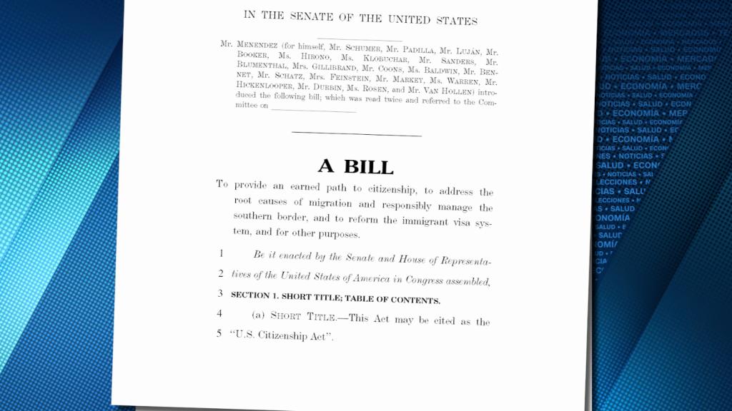 Esto contiene la propuesta de reforma inmigratoria de Biden