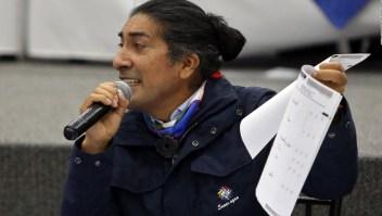 Pérez asegura que la marcha indígena es pacífica