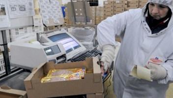 Alimentos y envases no propagan covid-19