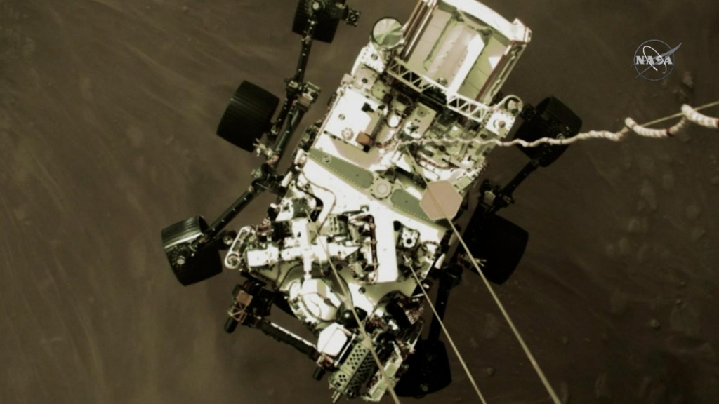 Google celebra la llegada de Perseverance a Marte
