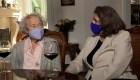 Con 111 años recibió la vacuna contra el covd-19