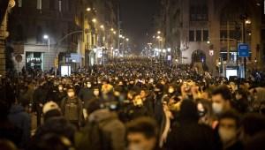 Siguen las protestas por detención de Pablo Hasél