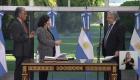 Carla Vizzotti asume como ministra de salud de Argentina