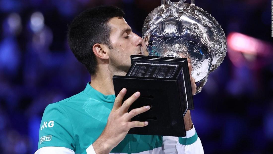 La legendaria carrera de Novak Djokovic