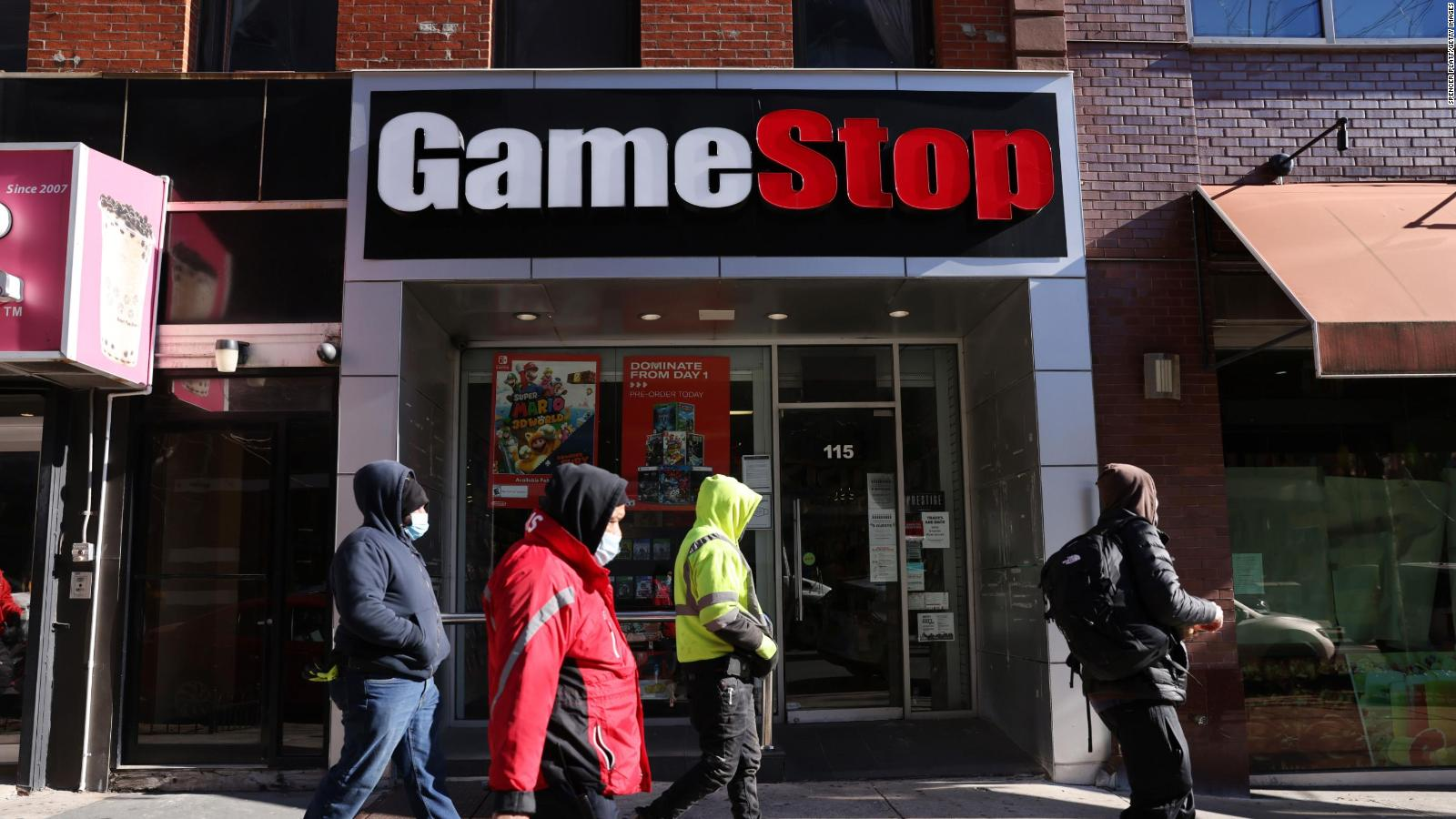 GameStop Shares are Up more than 100%