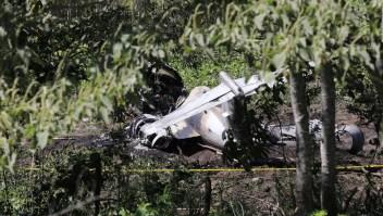 Esto sabemos del accidente de un avión militar en México