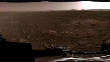 Escucha el primer audio que envió Perseverance desde Marte