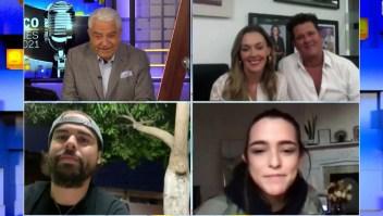 Programa 7: Carlos Vives, su esposa Claudia y sus hijos