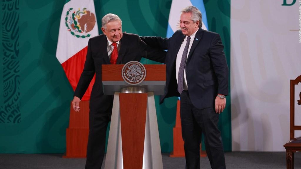 AMLO, Fernández y Slim estrechan lazos por las vacunas