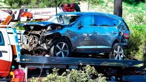 Policía revisará caja negra del automóvil de Tiger Woods