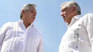 Alberto Fernández termina visita a México con AMLO en Iguala