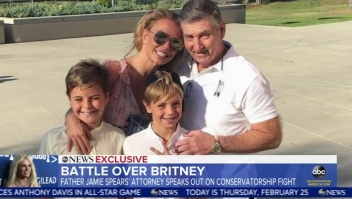 Papá de Britney Spears responde sobre la tutela de su fortuna