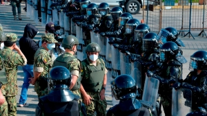 Impactantes imágenes de motines en cárceles de Ecuador