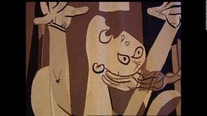 El tapiz del 'Guernica' se va de la ONU