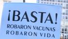 """Salen a la calle a protestar por el """"Vacunatorio VIP"""""""
