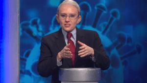 El concurso de 'Fauci' para vacunar a la gente en 'SNL'