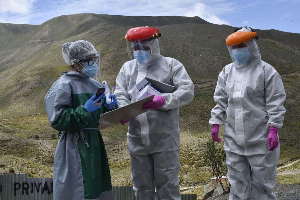 Bolivia doctors