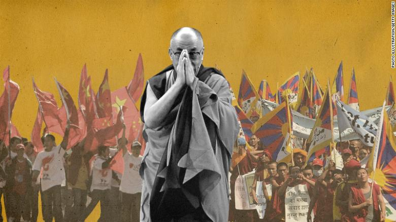 Dalai lama China Tíbet