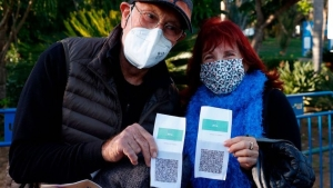 Desafíos Globales Pasaporte covid Israel
