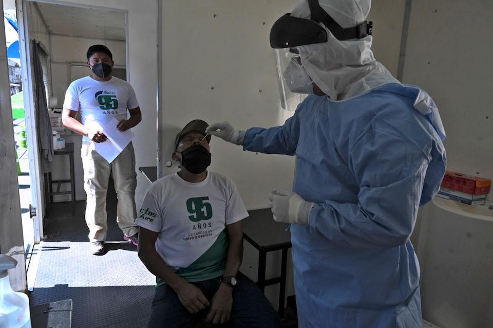 Guatemala prueba covid