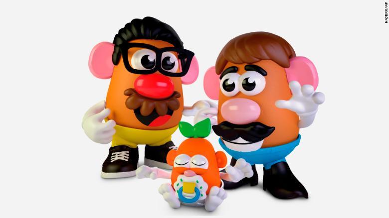 Mr. Potato Head (la marca del Señor Cara de Papa) tiene un nuevo nombre más incluyente