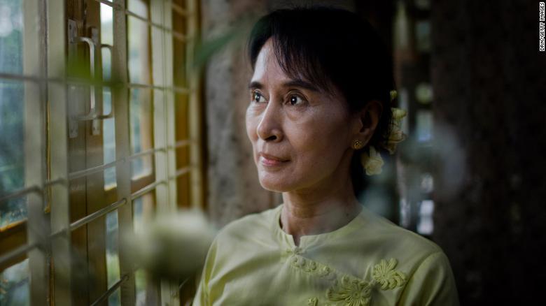 Myanmar Biden Suu Kyi