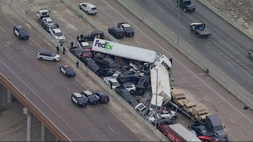 Texas accidentes