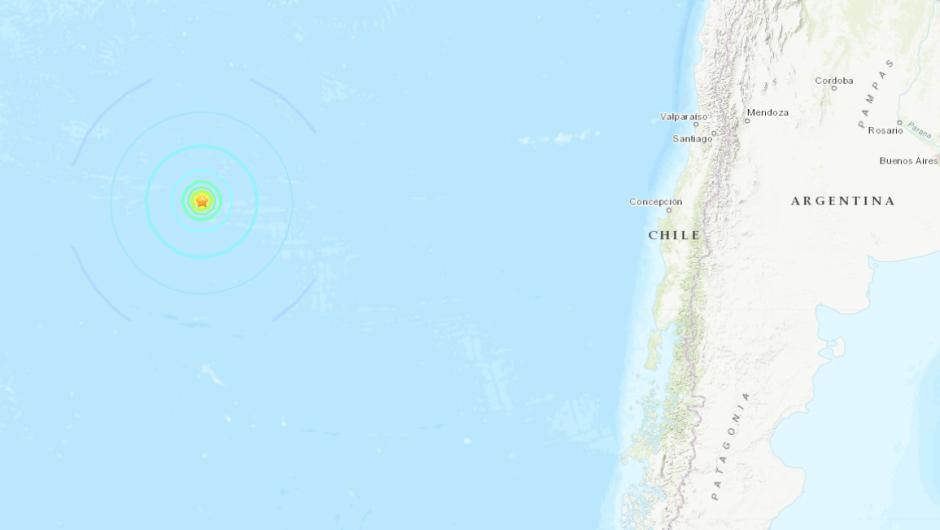 sismo Isla de Pascua