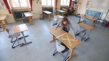 reabrir escuelas