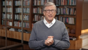 Bill Gates habla durante All In WA: A Concert For COVID-19 Relief el 24 de junio de 2020 en Washington. (Foto de Getty Images)